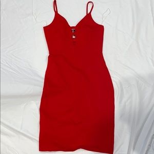 NWT WINDSOR RED DRESS SIZE L